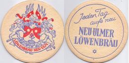 #D180-122 Viltje Löwenbräu Neu-Ulm - Sous-bocks