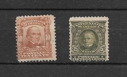UNITED STATES OF AMERICA YVERT TELLIER NRS. 151 ET 153 MNH SANS CHARNIERE COTATION YVERT TELLIER 280 EUROS - Unused Stamps