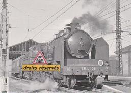 Pacific 231 L 108 Et Son Train, En Gare De Narbonne (11) - - Narbonne