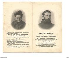 P 375. Le R.P. VICTORIN  (J. DELBROUCK) - °BOIRS (LIEGE) 1870 / WIHOGNE /LIEGE / + CHINE 1898 - Images Religieuses