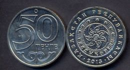 Kazakhstan 50 Tenge 2013 UNC < City TALDYKORGAN > Commemorative Coin - Kazakhstan
