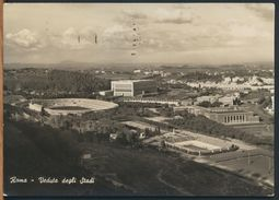 °°° 9885 - ROMA - VEDUTA DEGLI STADI - 1957 °°° - Stadien & Sportanlagen