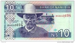 Namibia P.4c 10 Dollars 2001   Unc - Namibie