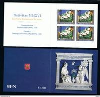 2016 - VATICANO -S27L - SET OF 4 STAMPS ** - Unused Stamps