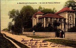 Seine St Denis - Montfermeil-Franceville - Un Coin De L'avenue Bellevue - Montfermeil