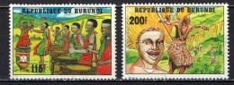 BURUNDI - 1992 - 30° ANNIVERSARIO DELL'INDIPENDENZA - USATI - Burundi