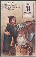 BAVARIA 1906 POSTCARD JULY 31st POSTAL RATE CHANGE - UNUSED - Beieren