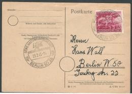 THIRD REICH 23.2.1945 POSTCARD USED - Germania