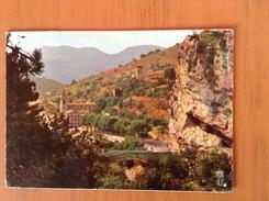CP Castellane.Le Pont Du Roc Et Panorama - Castellane