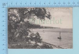 Danmark - Strandvejen Udsigr  Fra Strandmollebakken, Cover 1906 -> Milano On Twin 5 Ore Stamp - Danemark