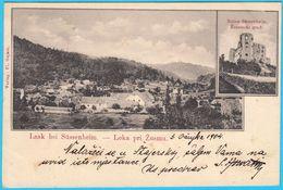 LOKA PRI ZUSMU Near Sentjur ( Slovenia ) * Travelled 1904. To Krizevac - Slovenia