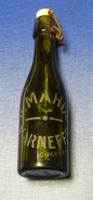 Marchand De Bières : V. Mahia à MARNEFFE - Bouteille 23 Cm - Année 1939 - Other Collections