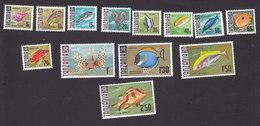 Tanzania, Scott #19-31, Mint Hinged, Fish, Issued 1967 - Tanzania (1964-...)