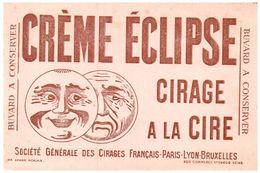(Tapp  1)  Buvard Crème Eclipse - Blotters
