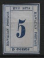 Hawai 1864 Y.T. 19 */MH VF/F - Hawaii