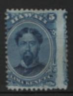 Hawai 1864/71 Y.T. 24 */MH VF/F - Hawaii