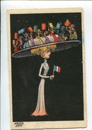 MOLYNK Femme Chapeau  Surréalisme Fête Nationale - Other Illustrators
