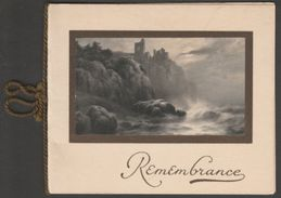 New Year Card, Remembrance, C.1910 - C W Faulkner Greetings Card - Old Paper