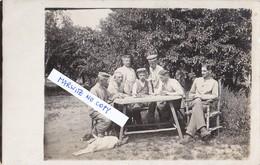 Foto Schach Chess Echecs Schachspiel Brettspiel Hund 1.Weltkrieg Deutsche Soldaten - Echecs