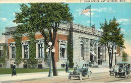 BATTLE CREEK POST OFFICE MICHIGAN VOITURES - Etats-Unis