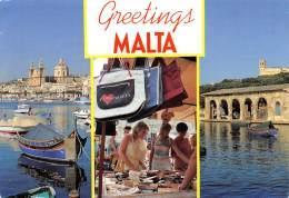 CPM - Greetings MALTA - Malta