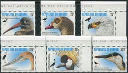 Burundi 1996. Michel #1828/33 MNH/Luxe. Birds. (Ts17/05/B25) - Oiseaux
