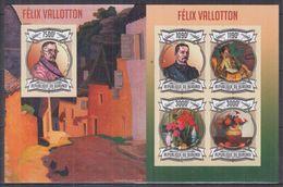 BURUNDI 2013 - Arts, Tableaux, Œuvres De Félix Vallotton - Feuillet 4 Val + BF ND Neufs // Mnh Imp // CV 71.00 Euros - Burundi
