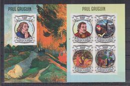 BURUNDI 2013 - Arts, Tableaux, Œuvres De Paul Gauguin - Feuillet 4 Val + BF ND Neufs // Mnh Imp // CV 71.00 Euros - Burundi