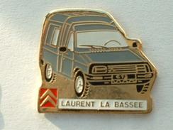PIN'S CITROËN - LAURENT LA BASSEE - C15 GRIS - Citroën