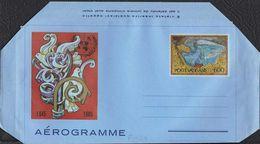 "VATICANO - AEROGRAMMA AEROGRAMME - O.N.U. (ONU) - 1985 - L. 600 - CATALOGO FILAGRANO ""A23"" - NUOVO - Interi Postali"