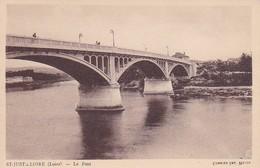 CPA St-Just-s-Loire - Le Pont (31919) - Saint Just Saint Rambert