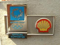 PIN'S CARBURANT - SHELL J.O ATHENES 2004 - Fuels