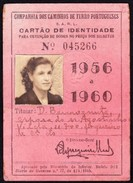 Portugal, PASSE, 1956/ 1960 - Portugueses Railwais/ Caminhos De Ferro Portugueses - Rede Geral - Europe