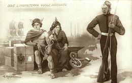 Guerre 14-18,  Carte Satirique Cartolina Satirica    Italia - Italie - Italy - Italien - Guerra 1914-18