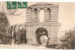 France & Circulated, Ruines Du Palais Gallien, Bordeaux, Condeon, Lisboa 1910 (42) - Monumenti