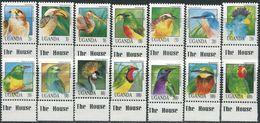 Uganda 1992. Michel #1141/54 MNH/Luxe. Birds (Ts17/B25) - Zonder Classificatie
