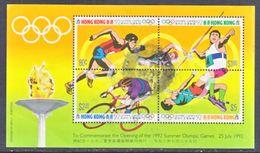 HONG  KONG  628    (o)  OLYMPICS  1992 - Hong Kong (...-1997)