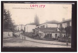 42 Chandon Haut Du Bourg Hotel Du Nord Attelage Cpa Animée 1909 - Sonstige Gemeinden