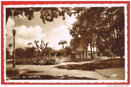 Recife - Pernambuco - Praça Do Bemfica 1956 ( 2 Scans ) Brasil Brazil - Recife