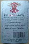 KOSOVO - SERBIA, ALCOHOLIC DRINK 49%, ORAHOVAC - Serviettes Publicitaires