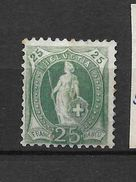 LOTE 1530  /// (C010)  SUIZA  1882     YVERT Nº: 75 *MH    CATALOG/COTE: 17,50€  SAN GOMME - Nuevos