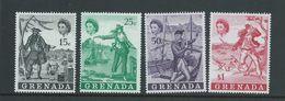 Grenada 1970 Pirate Set Of 4 MNH - Grenada (...-1974)