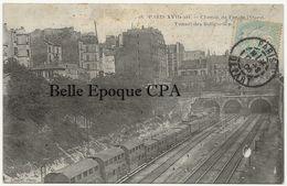 75 - PARIS 17 - #18 - Chemin De Fer De L'Ouest - Tunnel Des Batignolles ++++ Cadot ++++ 1906 ++++ - District 17