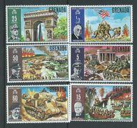 Grenada 1970 WWII Anniversary Set Of 6 MNH - Grenada (...-1974)