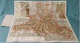 Reliefkarte Salzburger Land - Mit Sonderkarte Großglocknerstrasse / Salzburg - 79 X 68 Cm - Ca.1935 - Maßstab 1:200.000 - Maps Of The World