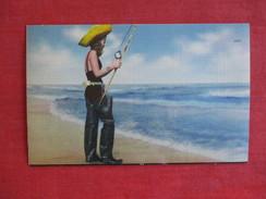Female  Fishing   Ref 2758 - Pin-Ups