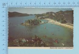 Caletilla Mexico  -Playa De Caleta Y Caletilla - Used In 1980 - Mexique