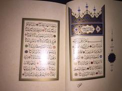 ISLAM OTTOMAN CALLIGRAPHY AMME CUZU Calligraphy : Mehmet Sevki Efendi - Huseyin Kutlu Illumination: Ersan Percem - Books, Magazines, Comics