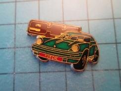 Pin512i  Pin's Pins / Belle Qualité Et TB état !!!! : VOITURE  PORSCHE 911 VERT SAPIN - Porsche