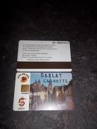 JOLIE CARTE A PUCE CEV / CARTAPLUS FIDELITE ET STATIONNEMENT  VILLE : SARLAT T.B.E !!! - Frankrijk